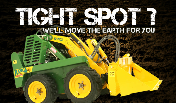 Tight Spot Mini Diggers
